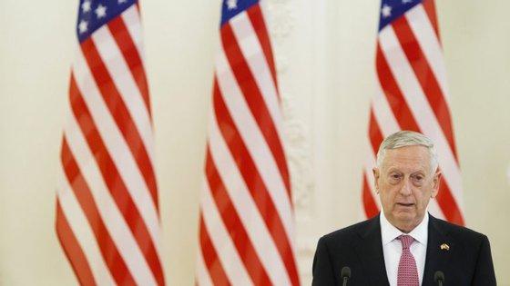James Mattis é o secretário de Estado para a Defesa Nacional dos EUA