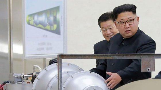 A ogiva nuclear que terá sido testada cabe dentro do cone de um míssil balístico intercontinental