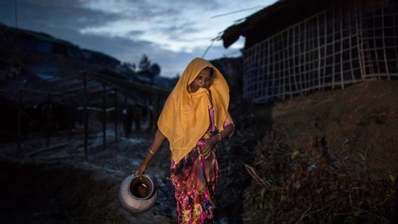 Hoje em dia mais de um milhão de rohingyas vive em Myanmar