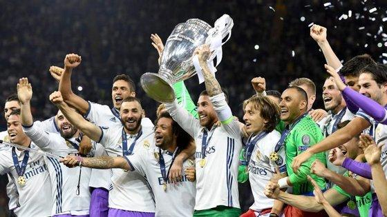 Será que o Real Madrid vai repetir a proeza da época passada? Para já, é o grande favorito a nova vitória na Liga Milionária