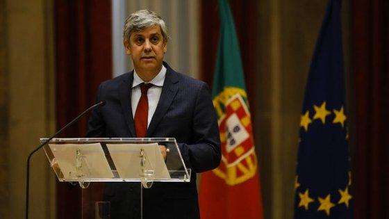 Mário Centeno está na rentrée dos ministros das Finanças da zona euro, na Estónia