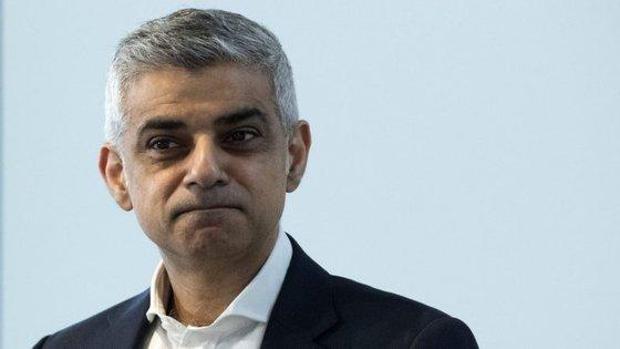 Sadiq Khan é o autarca de Londres desde maio de 2016