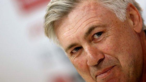 O presidente do clube agradeceu a colaboração de Carlo Ancelotti