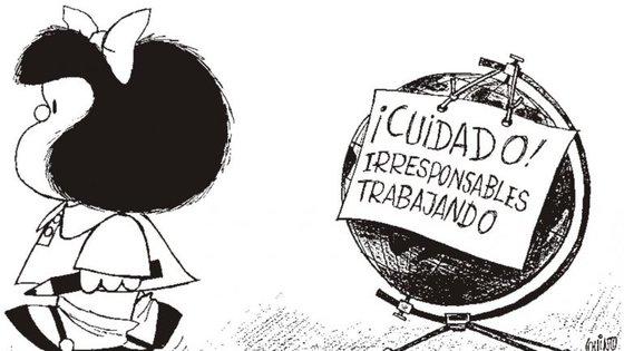 Os primeiros cartoons de Mafalda foram publicados no jornal Primera Plana, de Bueno Aires, cidade de onde o criador é natural