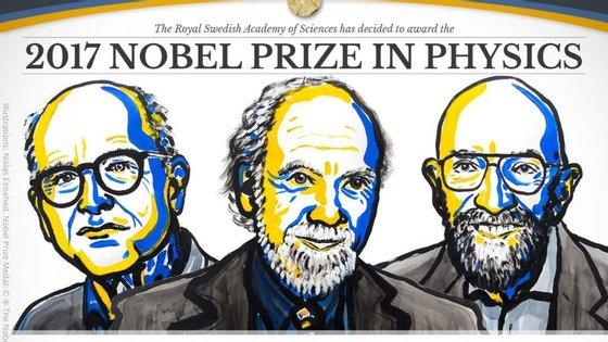 Três investigadores envolvidos na deteção das ondas gravitacionais
