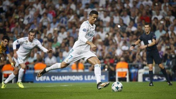O jogador chegou ao Real Madrid em 2009, vindo do Manchester United