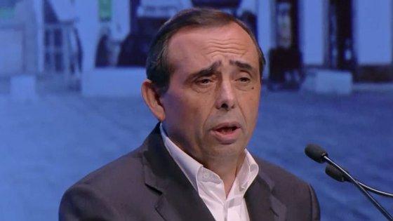 Álvaro Amaro foi reeleito presidente da Câmara pelo PSD com 61,2% dos votos.