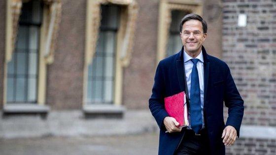 """""""Há um bom acordo para formar governo"""", disse Rutte"""