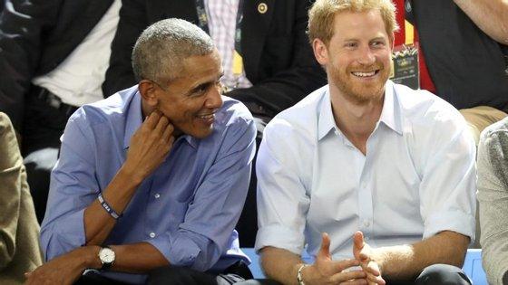 Barack Obama assistiu aos Invictus Games, um evento para soldados feridos em combate fundado pelo príncipe Harry