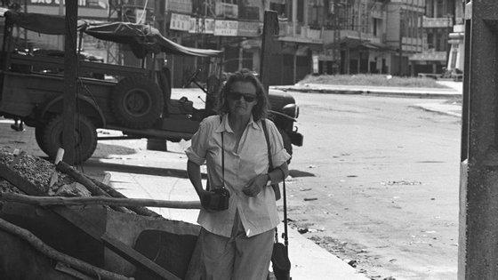 Clare Hollingworth começou a sua carreira em 1939 e foi uma das primeiras repórteres de guerra