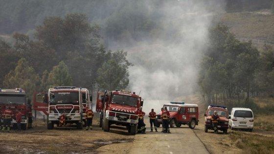 Os dois bombeiros voluntários eram de Cantanhede