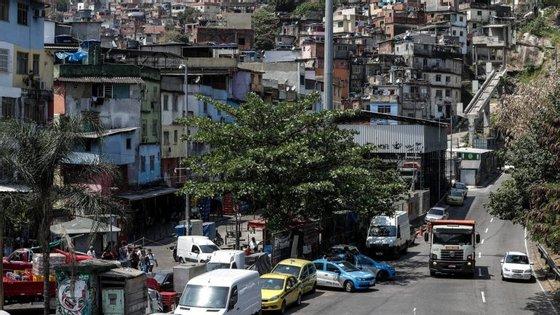 Mil soldados já tinham ocupado a favela em setembro