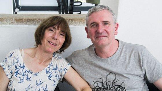 Mike e Linda Carey estiveram em Portugal a propósito do Fórum Fantástico, um evento anual de ficção científica