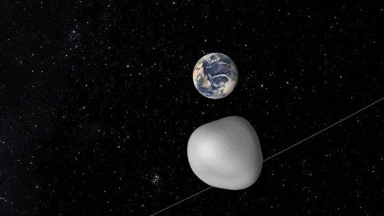 O asteroide 2012 TC4 tem cerca de 15 a 30 metros de diâmetros