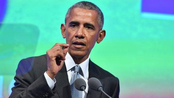 Barack Obama foi presidente dos EUA entre 2009 e 2017