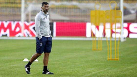 Sérgio Conceição esteve na final da Taça como treinador e venceu a competição como jogador