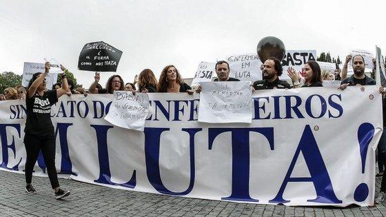 O Sindicato dos Enfermeiros e o Sindicato Independente dos Profissionais de Enfermagem avançaram com uma greve de cinco dias no início de setembro