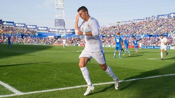 Ronaldo decidiu o encontro aos 85 minutos após uma assistência de Isco e um falhanço pouco comum