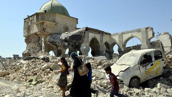 A segunda cidade no Iraque, que tinha 1,8 milhões de habitantes, foi tomada pelos jihadistasem 2014