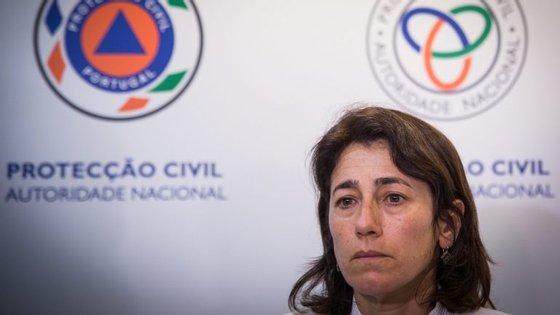 Ministra da Administração Interna voltou a fazer ponto de situação, depois de uma reunião na Proteção Civil.