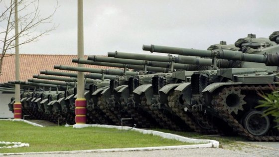 O Campo Militar de Santa Margarida, em Constância