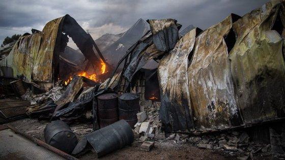 Esta é a segunda situação mais grave de incêndios com mortos este ano
