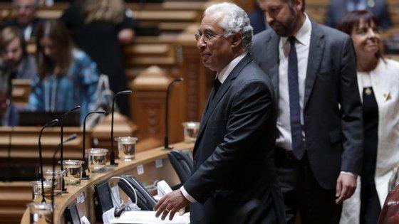 """Minoria pede a António Costa reunião urgente para """"analisar e debater o atual momento político"""""""