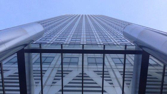 O edifício One Canada Square, em Londres, onde fica a sede da Moody's na capital britânica.