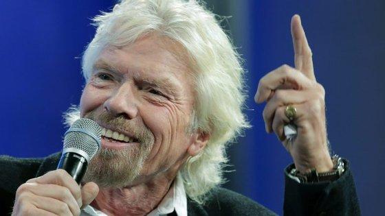 Richard Branson tem 67 anos e uma fortuna avaliada em 5 mil milhões de dólares