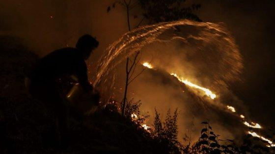 Os incêndios deste ano consumiram mais de 550 mil hectares