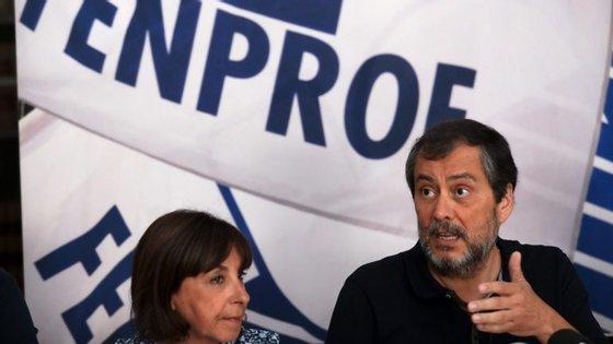 Mário Nogueira, dirigente da Fenprof