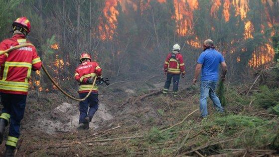 Há 29 concelhos em risco de incêndio