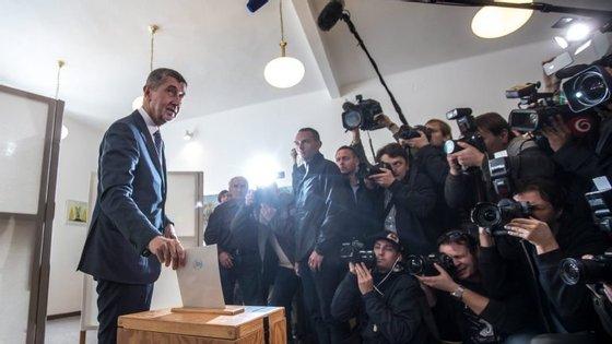 """Andrej Babis já foi apelidado de """"Trump checo"""""""