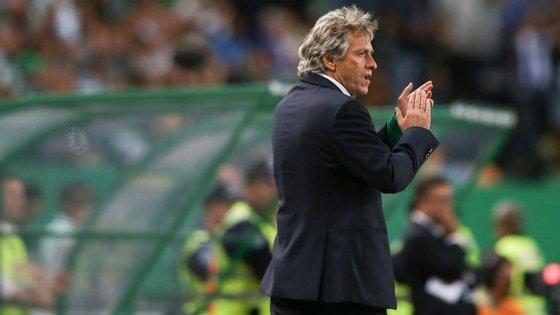 """""""O Sporting está bem"""", afirmou Jorge Jesus"""