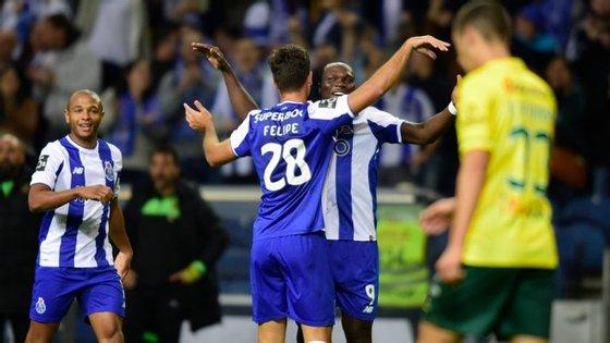 Felipe e Aboubakar marcaram um golo cada, mas Brahimi foi também um dos mais inspirados esta noite