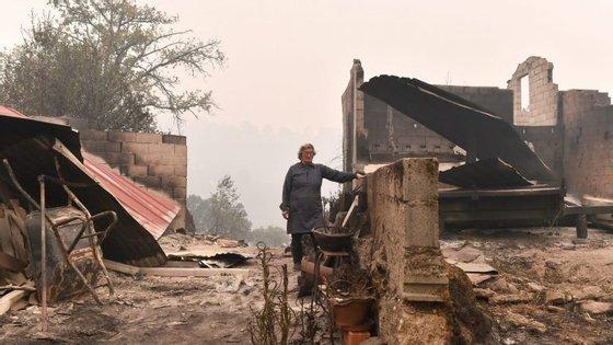 No dia 15 de outubro deflagraram mais de 443 incêndios