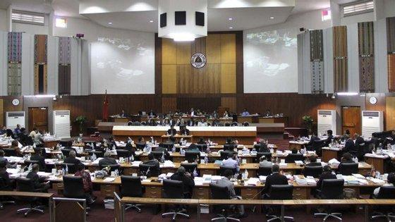 O programa do governo foi chumbado através de um moção de rejeição