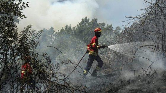O homem detido é ainda suspeito de ser o autor de outro incêndio na mesma zona, no passado mês de abril
