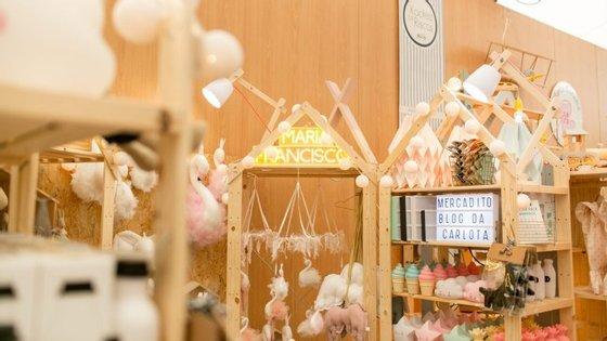 Fernanda Ferreira Velez, a organizadora do mercado, desafiou as marcas a criarem pequenas coleções já a pensar no Natal.