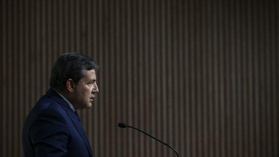 Presidente da Federação Portuguesa de Futebol foi ouvido esta quarta-feira no Parlamento