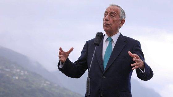 Esta é a segunda visita de Marcelo aos Açores. A primeira foi em junho