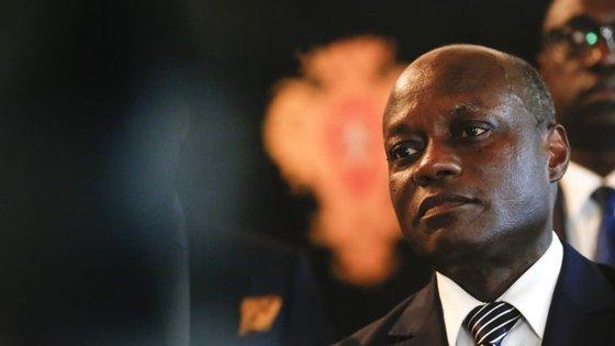O Presidente da Guiné-Bissau, José Mário Vaz.