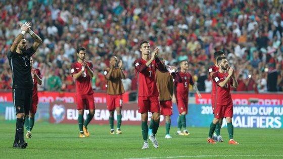 Portugal assegurou a qualificação após uma série de nove vitórias seguidas, a última frente à Suíça na Luz por 2-0
