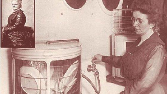 Josephine e uma das primeiras máquinas de lavar loiça