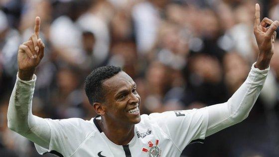 Jô regressou este ano do Corinthians vindo da China e é o melhor marcador do Campeonato