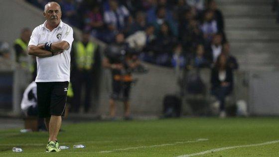 Reações de Vítor Oliveira, treinador do Portimonense.