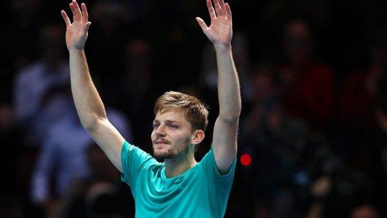 Goffin tornou-se apenas no terceiro tenista a derrotar Nadal e Federer na mesma edição do Masters