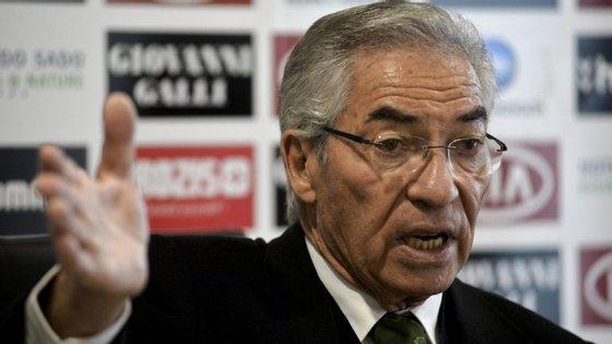 Presidente do Vitória de Setúbal, Fernando Oliveira.