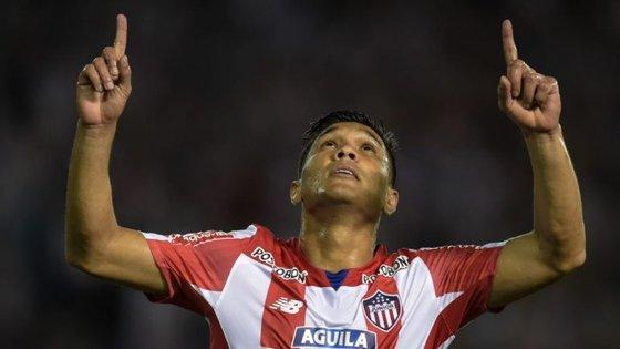 Aos 32 anos, Teo Gutiérrez brilhou em campo (oito golos em 20 jogos) antes de levantar polémica fora dele