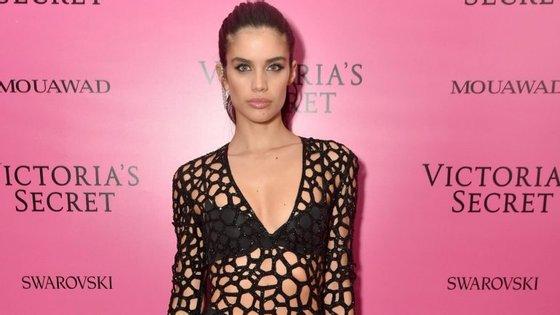Sara foi a única modelo portuguesa a participar no desfile da Victoria's Secret